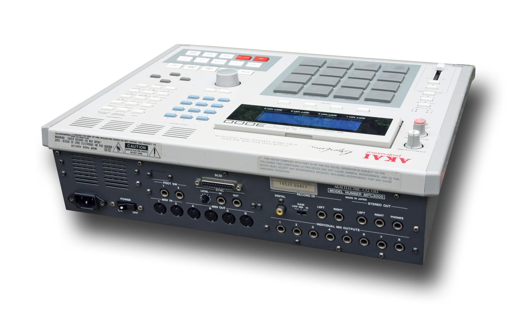 Akai MPC3000 image (#486639) - Audiofanzine