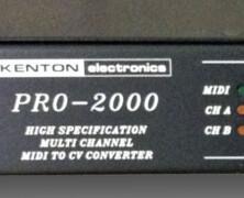 Kenton Pro-2000 MIDI to CV