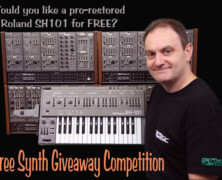 Free Roland SH101 Competition