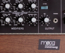 Early Minimoog #1300