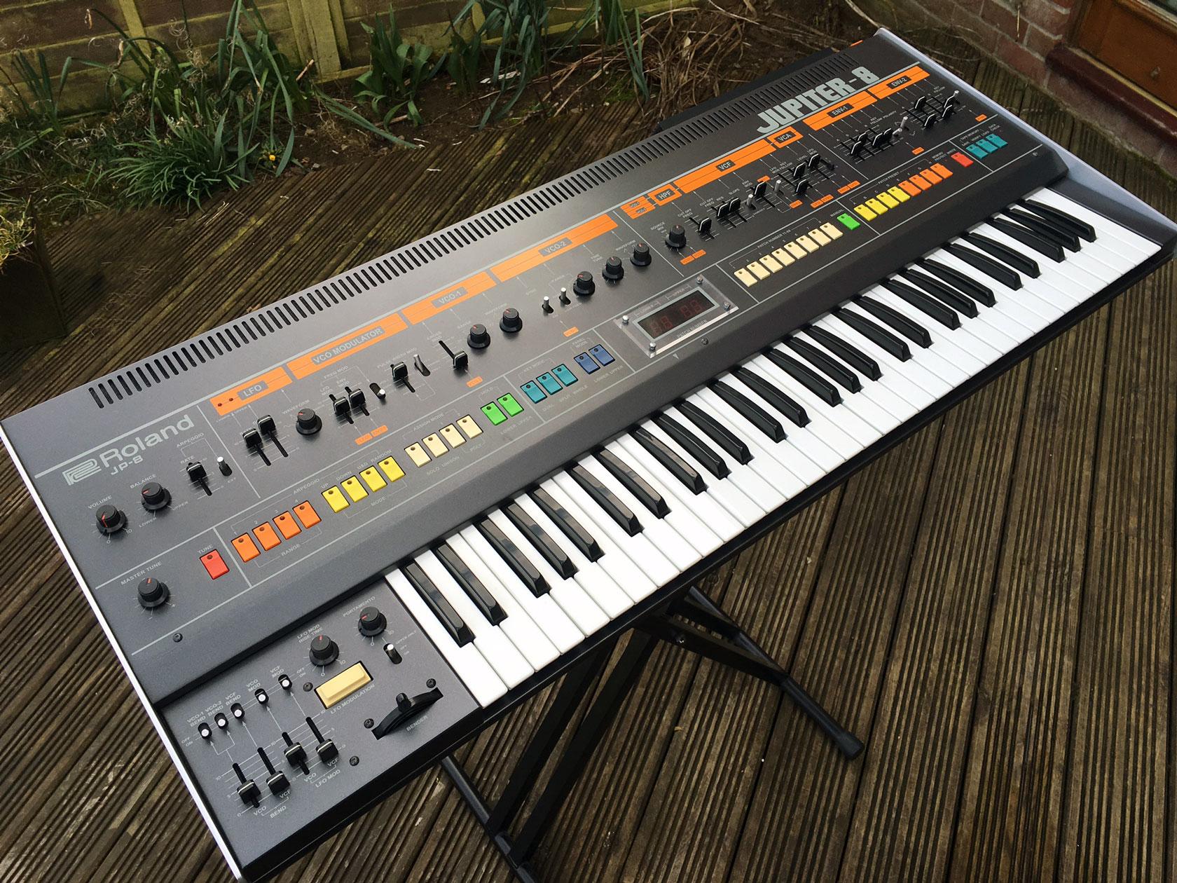 Roland JP8 w/MIDI | RL Music