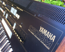 Yamaha CS70M w/MIDI